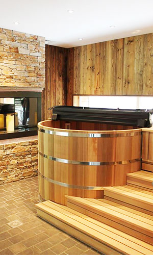 Spa en bois red cedar